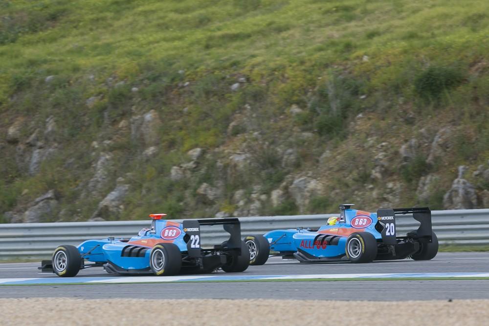 GP3 Team JMS sponsored by B63 - For Energy