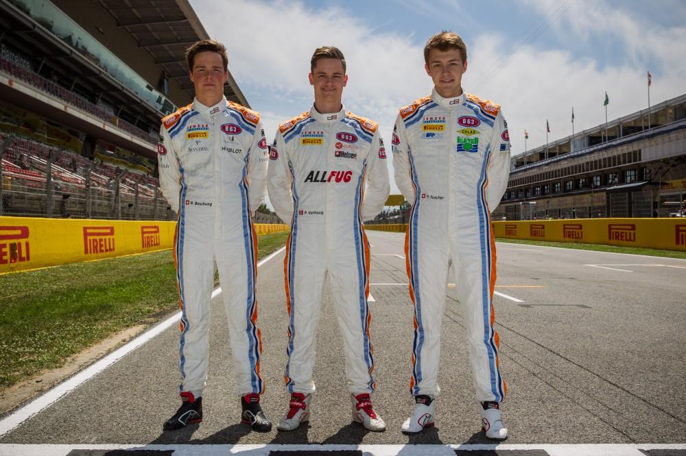 B63 Energy Drink - GP3 Drivers - Jenzer Motorsport