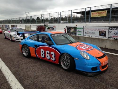 B63 Energy Drink - Porsche GT3