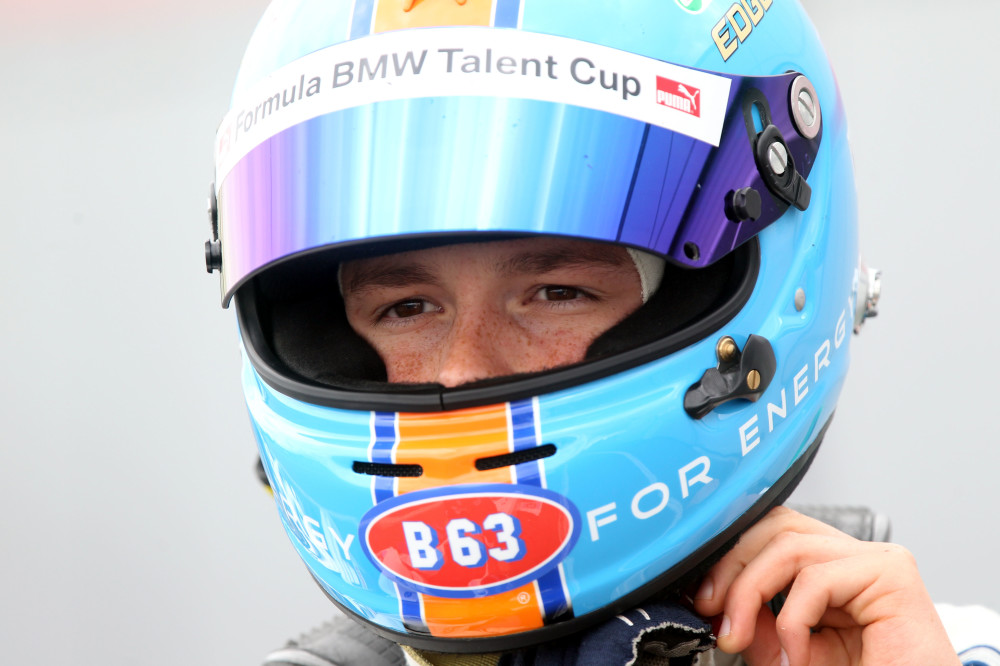 B63 Energy Drink: BMW Formula Talent Cup - Ralph Boschung sponsored by B63